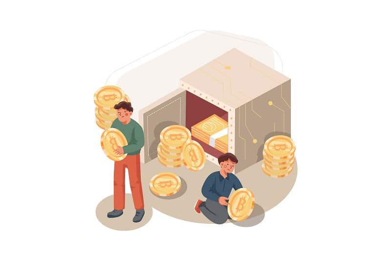 proof of stake хора с монети