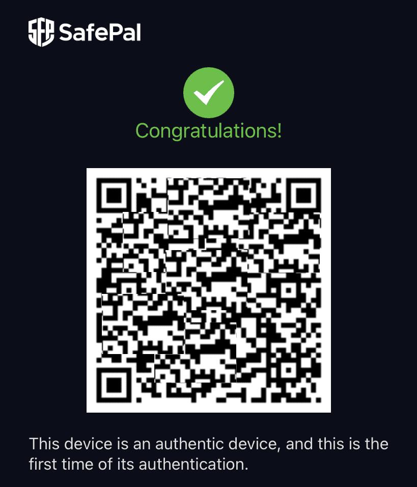 safepal крипто портфейл проверка за автентичност