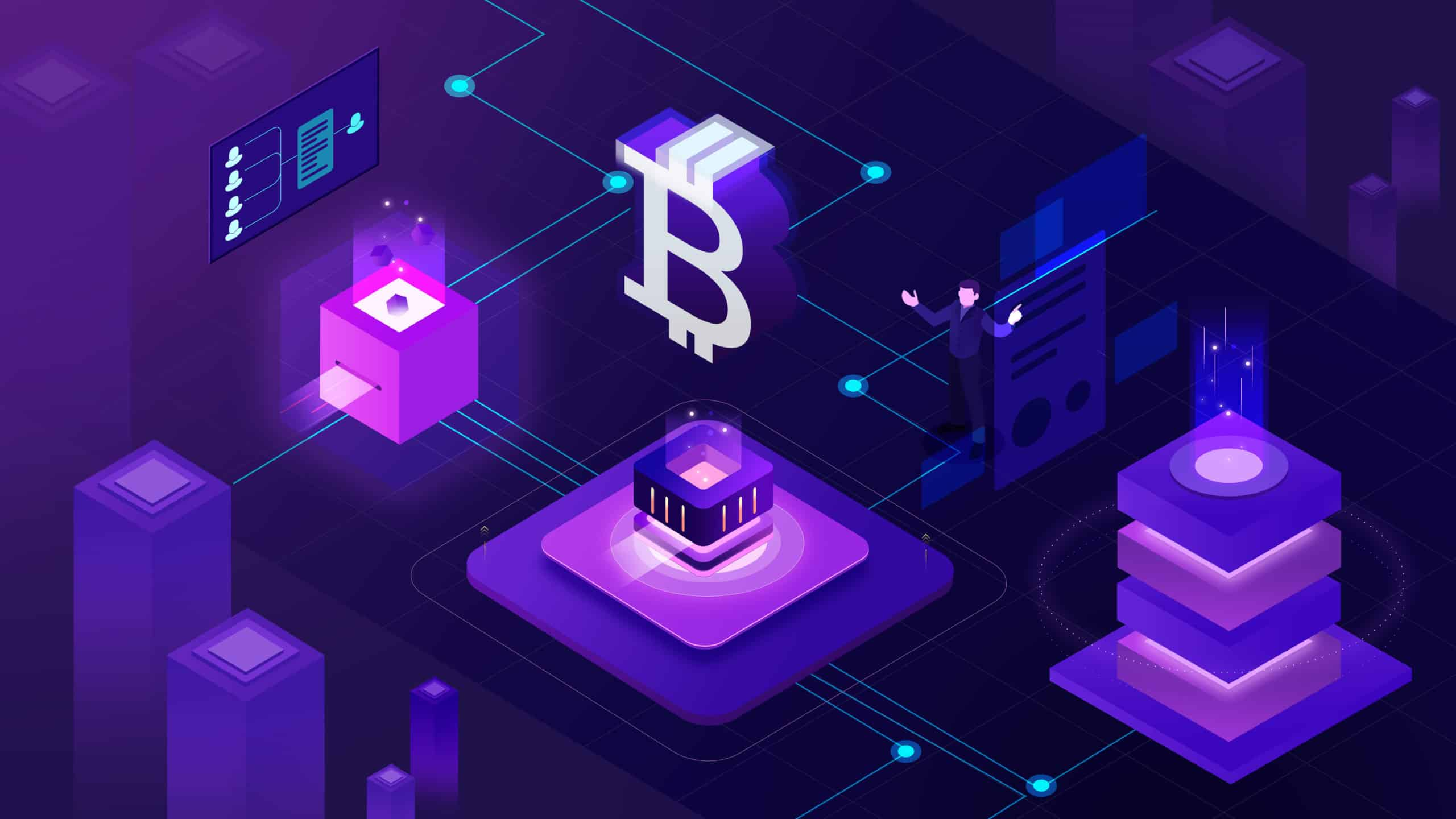 как работи биткойн блокчейн