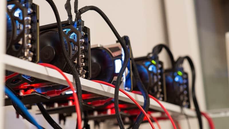 5 биткойн майнинг рига за доказателство за работа на блокчейна
