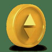 цена етериум златна монетка